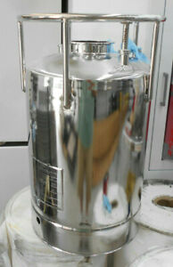 Alloy Products Corp 30 Liter Pressure Vessel With Dip Tube