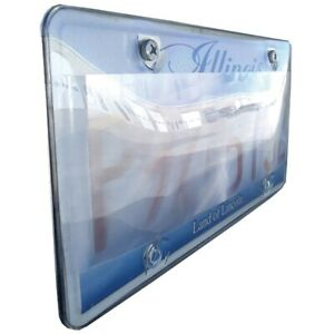 Street Vision Svpblockp2 Diffusional Photo Shield License Plate Cover each