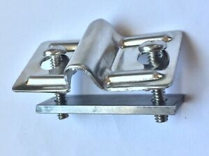 1937 1941 1946 Chevy Truck Stainless Steel Hood Hold Down Bracket With Brace