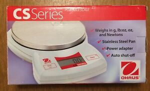 Brand New Ohaus Cs2000 Series Compact Scale Portable Balance Weighs In G lb oz