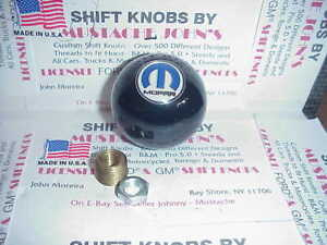 Mopar Dodge Plymouth Chrysler Custom Black Shift Knob Car Truck Hot Rod