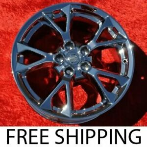 Exchange Set Of 4 Chrome 18 Oem Factory Wheels Rims For Nissan Maxima 62582