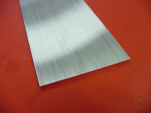 1 4 X 6 Aluminum 6061 Solid Flat Bar 8 Long T6511 Extruded Plate Mill Stock