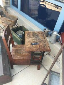 Antique Child S Vintage Desk