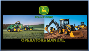 John Deere 459 Silage Round Balers Hay And Forage Operators Manual On Cd