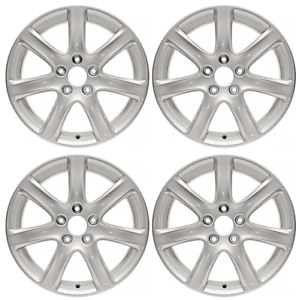 New Set Of 4 17 X 7 Replacement Wheel Rim For 2003 2004 2005 Acura Tsx