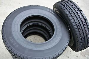 2 New Premium Cargo Max St 235 85r16 G 14 Ply Steel Belted Radial Trailer Tires