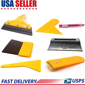 Car Window Tint Film Wrapping Vinyl Tools Squeegee Scraper Applicator Kits