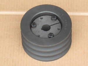 3160 Mower Triple Middle Pulley Hub For Ih International 154 Cub Lo boy 184