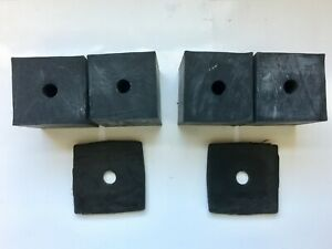 1947 1954 Chevy Gmc Truck Bed Mounting Blocks W Pads Kit 724 Free Shipping