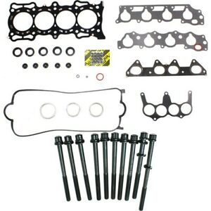 Head Gasket Set Bolts Fits Honda Accord Oasis Acura Cl Vtec 2 3l Sohc F23a1