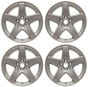 New Set Of 4 17 Replacement Wheel Rim 2008 2010 Dodge Challenger Charger Magnum