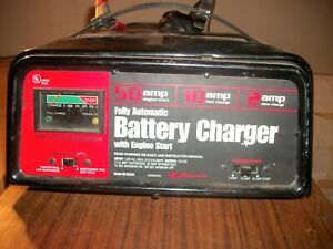 Schumacher Se 5212a 12v 50amp Fully Automatic Battery Charger