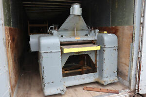 Oliver 261 ad 30 X 8 Wood Planer 15hp 30 w X 46 l Table
