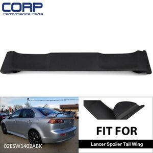 For 2008 2017 Mitsubishi Lancer Oe Factory Style Trunk Spoiler Unpainted Primer