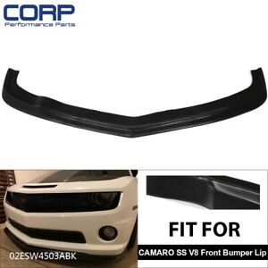 Front Bumper Lip Spoiler For 2010 2011 2012 2013 Chevy Camaro Ss 2dr Zl1 Style