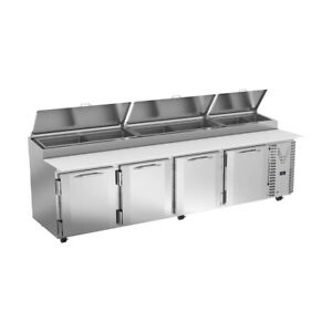 Victory Vpp119hc 119 Pizza Prep Table Refrigerated Counter