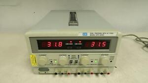 Gw Gpc 3030d Laboratory Dc Power Supply Dual Tracking T143087