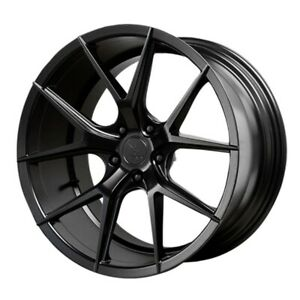 19x8 5 9 5 Verde Axis 5x120 15 22 Satin Black Wheels set Of 4