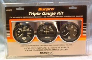 Sunpro Mechanical Triple Gauge Set Cp8075 2 5 8