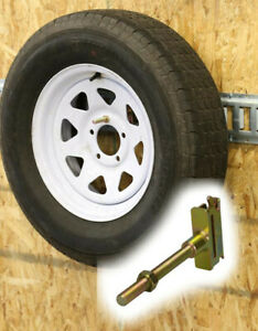 Spare Tire Carrier Holder For E Track And E Track Cargo Control Systems Mount