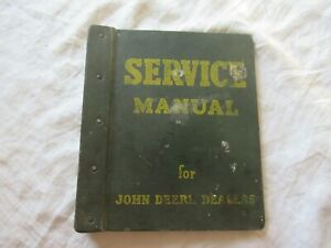 1974 John Deere 100 Lawn Garden Tractor Service Manual W hard Cover Jd Binder