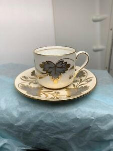 Vintage Grosvenor Demitasse Tea Cup And Saucer