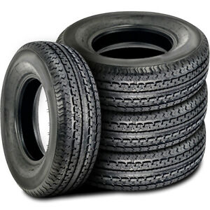 4 New Durun Stc1 St 235 85r16 Load G 14 Ply Trailer Tires