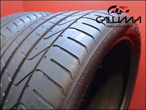2 Two Tires Excellent Pirelli 295 30 20 Zr P Zero 101y Oem Porsche Bmw M5 50850
