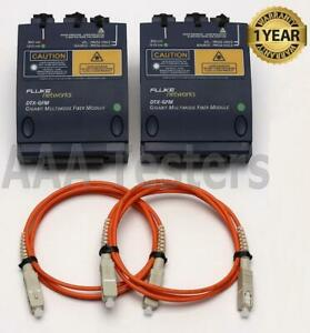 Fluke Networks Dtx gfm Gigabit Mm Fiber Module Set For Dtx 1800 Dtx 1200 Dtx Gfm
