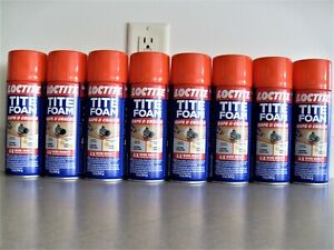 8 Cans Loctite Titefoam Gaps Cracks High Density Insulating Foam Sealant 12oz