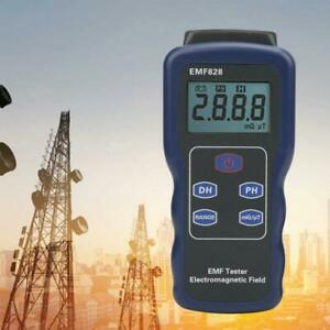 Emf828 Electromagnetic Radiation Detector Tester Meter Electric magnetic Field