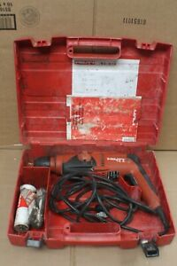 Hilti Te 2 s Rotary Hammer Drill With Hard Case Free U s Shipping