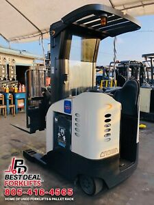 2006 Crown Rr5000 Reach Truck Fully Refurbished 1850 Hours 240 Financing