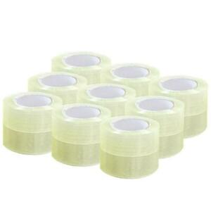 18 Roll 1 9 110 Yard 330 Clear Carton Sealing Packing Shipping Tape 2 0 Mils