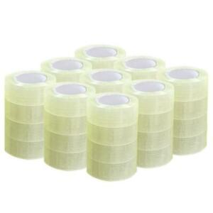 36 Roll 1 9 110 Yard 330 Clear Carton Sealing Packing Shipping Tape 2 0 Mils
