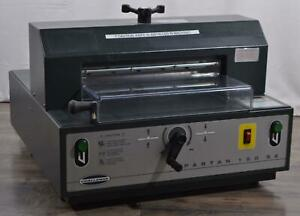 Challenge Spartan 150 Sa Professional Table top Paper Cutter Machine 15 1 2 Hp