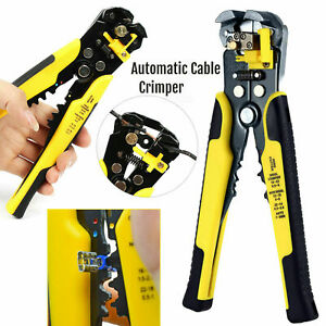 Cable Wire Stripper Cutter Plier Crimper Multifunctional Terminal Stripping Tool