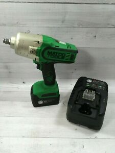 Matco 1 2 Cordless 20v Infinium Impact Wrench Green Mcl2012hpiw Battery Charger