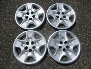 Factory 1998 To 2003 Toyota Sienna 15 Inch Hubcaps Wheel Covers Set