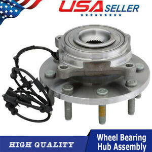 Front Wheel Hub Bearing Assembly For 2012 2013 Dodge Ram 3500 2500 4wd W Abs