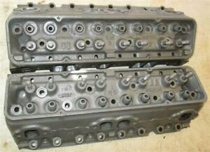 1958 Small Block Chevy 283 Cylinder Heads 3743056 58 X Corvette Fuel Injection