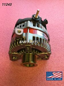 250 Amp 11243 Alternator Chrysler Dodge Jeep Volkswagen High Output Hd New Usa