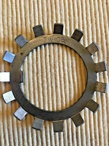 Timken Tw108 Tab Lock Washer Axle Tongue Bearing Spindle Tapered Roller Nut