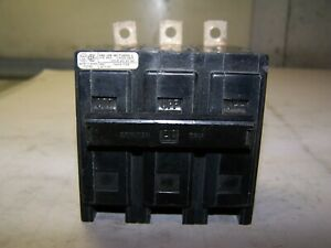 Westinghouse 20 Amp Quicklag B Circuit Breaker 240 Vac 3 Pole Qbhw3020h