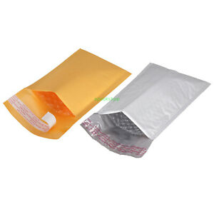 Bubble Padded Envelope Postage Shipping Mailer Pouch 3 X 6 4 X 7 5 X 8