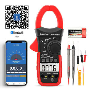 Digital Clamp Meter Voltmeter Ammeter Ohmmeter Tester Ac dc Multimeter With App