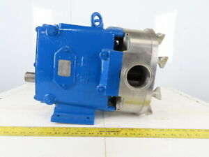 Waukesha Model 130 2 1 2 Positive Displacement Pump Stainless Steel