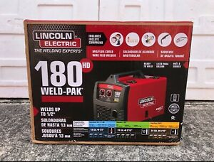 Lincoln Electric Pro Mig 180 Hd Wire Feed Welder K2515 1 brand New