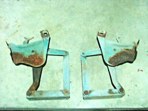 1958 1959 Chevrolet Truck Oem Hood Hinges Without Springs Chevy Gmc No Fit 55 57